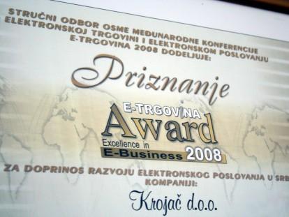 E-Trgovina 2008